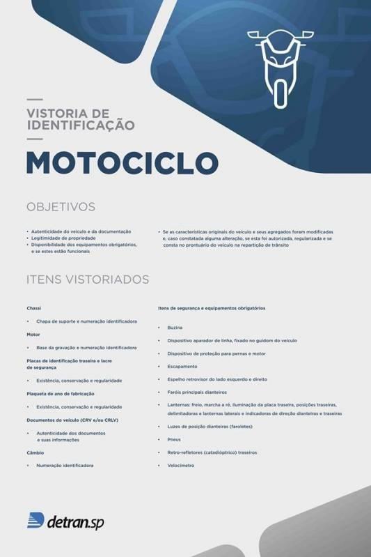 Empresa de Vistoria Cautelar Moto Cordeirópolis - Vistoria Cautelar Completa