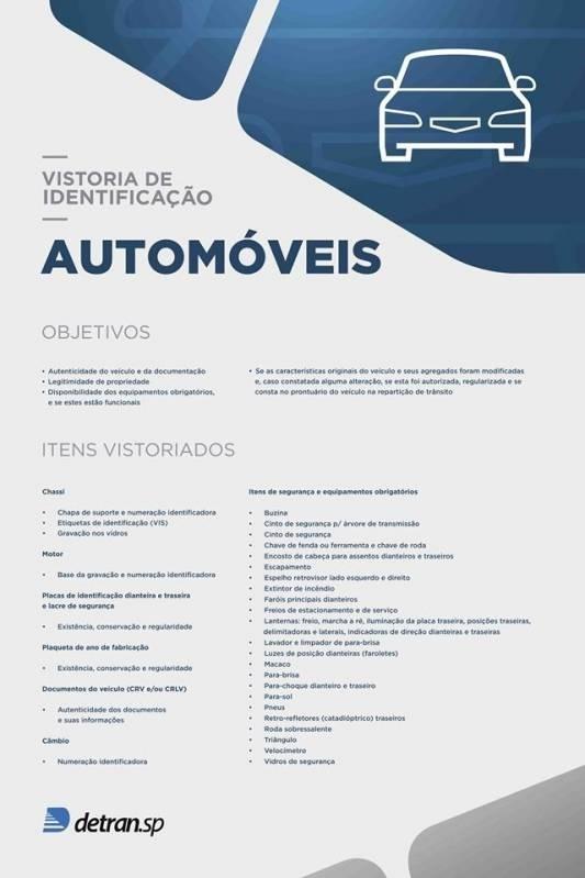 Vistoria Cautelar Automotiva Valor Cordeirópolis - Vistoria Cautelar Automotiva