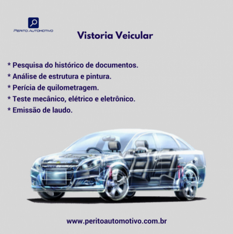 Vistoria Cautelar para Transferência Valor Artur Nogueira - Vistoria Cautelar Automotiva