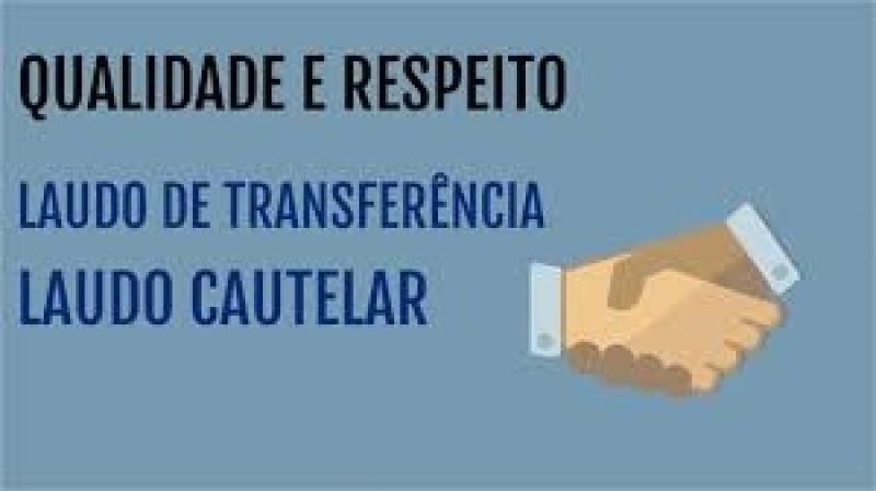 Emitir Laudo Cautelar e Transferência Artur Nogueira - Laudo Cautelar Transferência