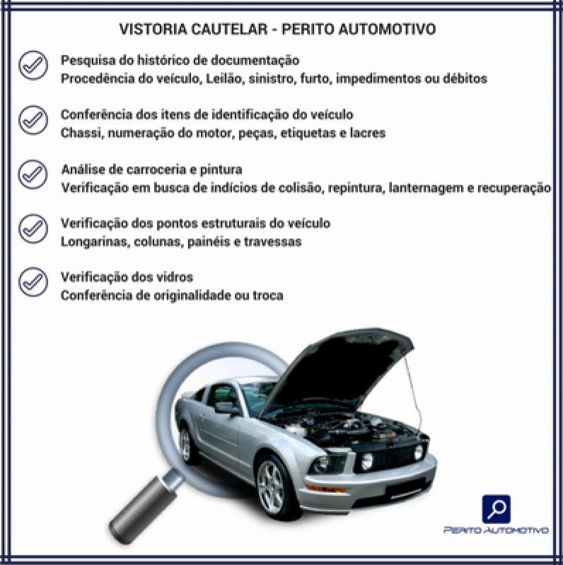 Laudos Cautelares para Carro Limeira - Laudo Cautelar Completo