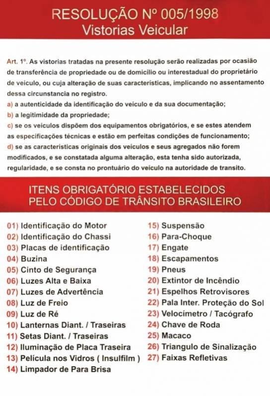Onde Fazer Vistoria Cautelar de Veículos Artur Nogueira - Vistoria Cautelar Veicular
