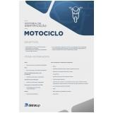 empresa de vistoria cautelar moto Limeira