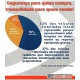 vistoria de carros orçamento Cordeirópolis